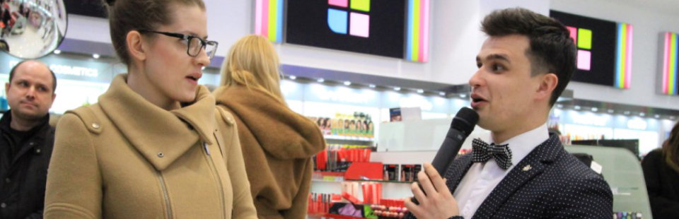 Рекламное BTL агентство «FourT» Открытие магазина  «Рив Гош»
